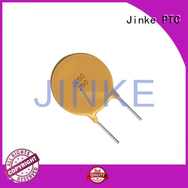 temperature Custom low ptc thermistor resettable Jinke