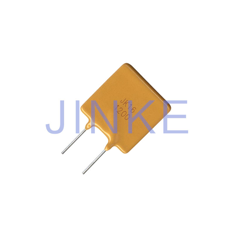 RoHS compliant DIP 16V Resettable Fuse  Through Hole PPTC  JK16 SERIES