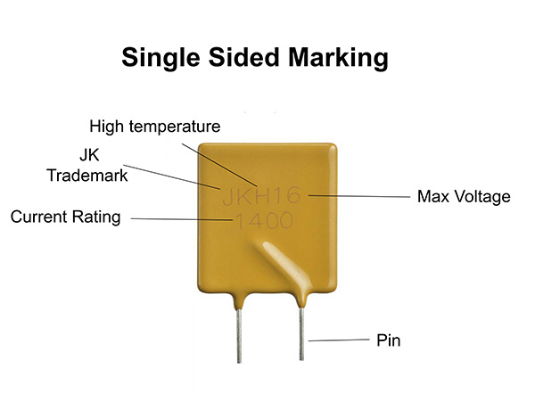 Jinke jkm resettable thermal fuse low resistance for Hard disk drives-1