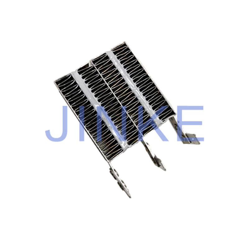 Silver gray PTC thermistor PTC heating element for hand dryer
