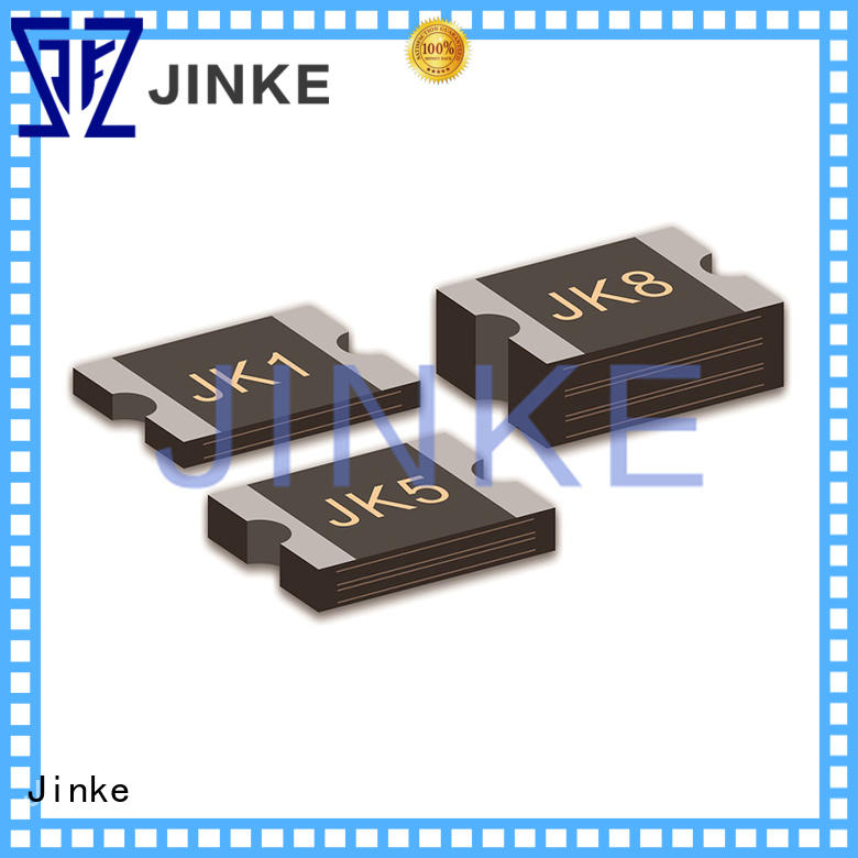 Jinke pptc resettable fuse factory for video cameras