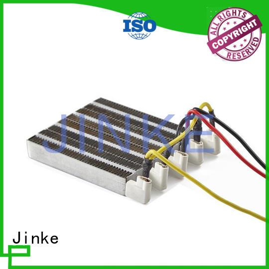 hand insulated cloth Jinke Brand small ceramic heating element manufacture