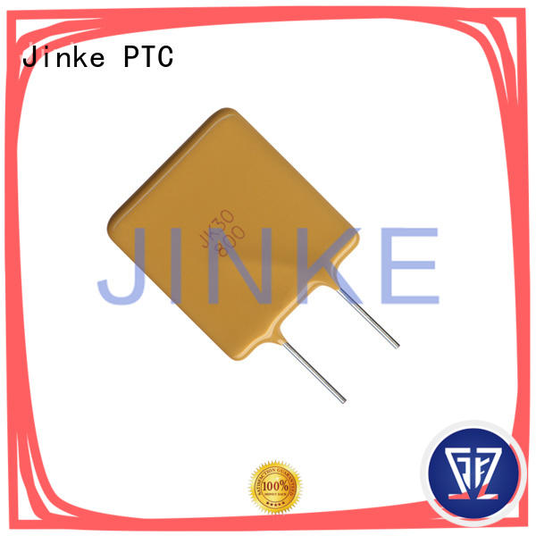 Jinke 600v ptc resistor application low resistance for E-Readers