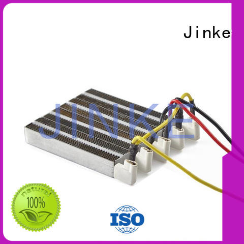 Jinke safe ptc ceramic heater and fan easy adjust for vehicle heating