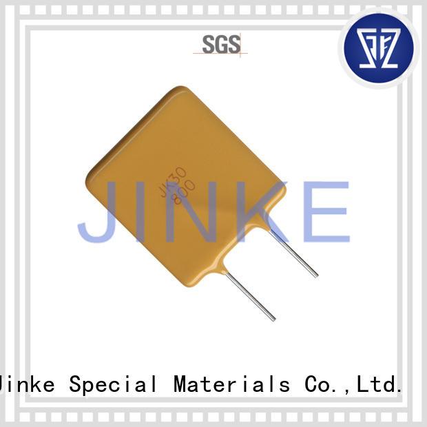 Custom automatic strap ptc thermistor Jinke polymer