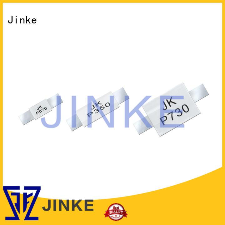 polyswitch low thermal ptc thermistor fuse Jinke Brand