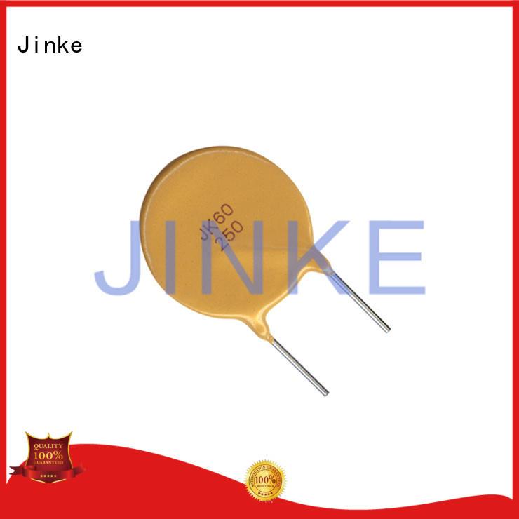 polymer automatic ptc thermistor thermal multifuse Jinke company