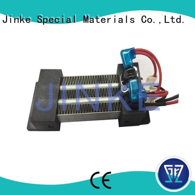 Jinke long lifetime ptc ceramic heater high efficiency for air conditioner