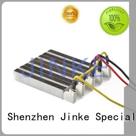 small ceramic heating element straightener aluminum Jinke Brand ceramic ptc