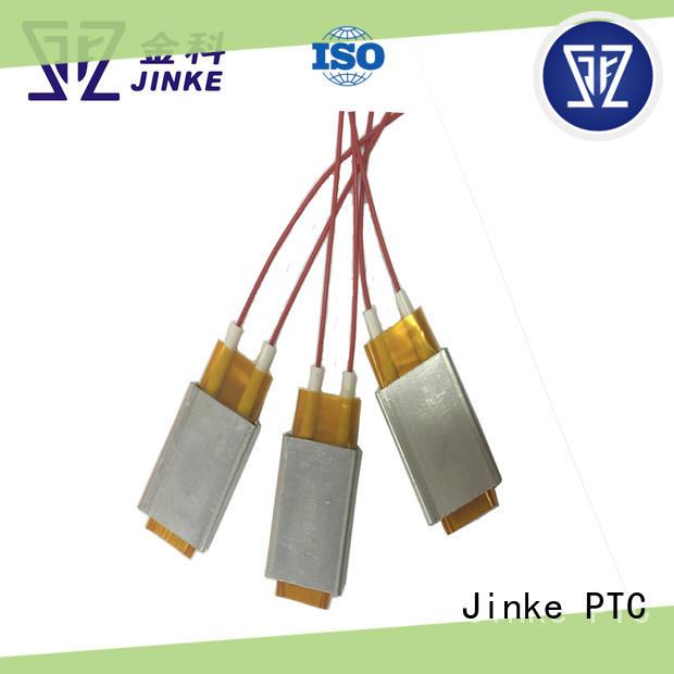 Jinke details ceramic electric heater high efficiency for fan heater