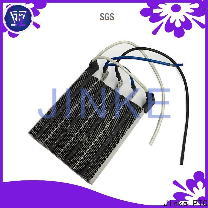 Jinke temperature ptc water heater manufacturer for battery warmer