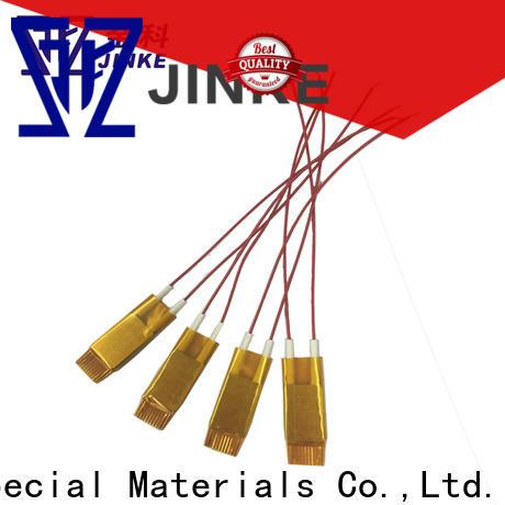 Jinke glue ptc ceramic heater element factory price for plaza