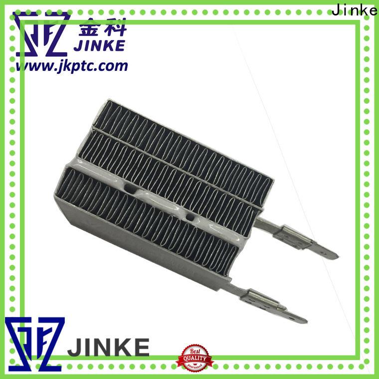 Jinke professional 100v finned heating element for house heater supplier for family