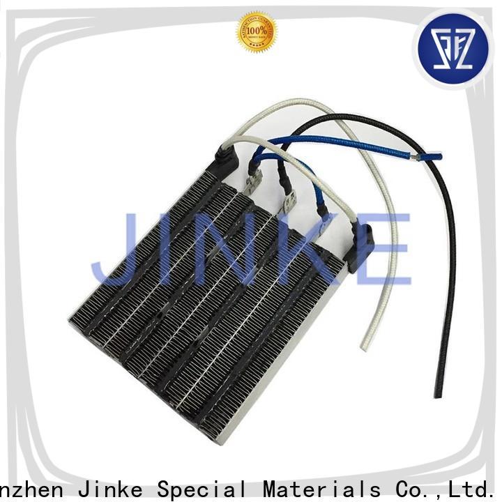 Jinke long lifetime ptc water heater easy adjust for battery warmer