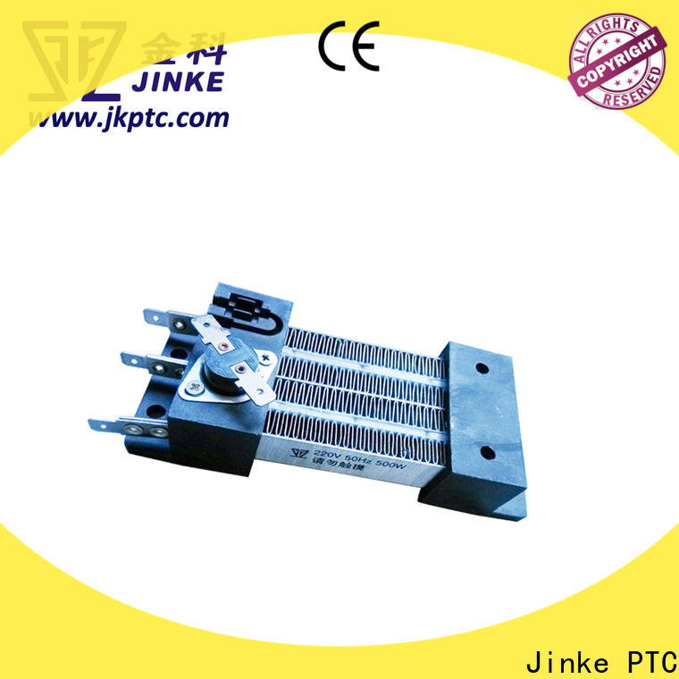 Jinke glue ptc heating element 220v factory price for building