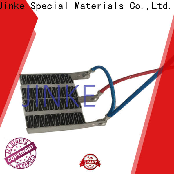 Jinke automatic define ptc heating element on sale for plaza