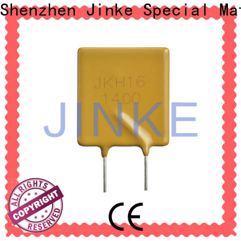Jinke long lifetime ptc resistor low resistance for Notebook PCs