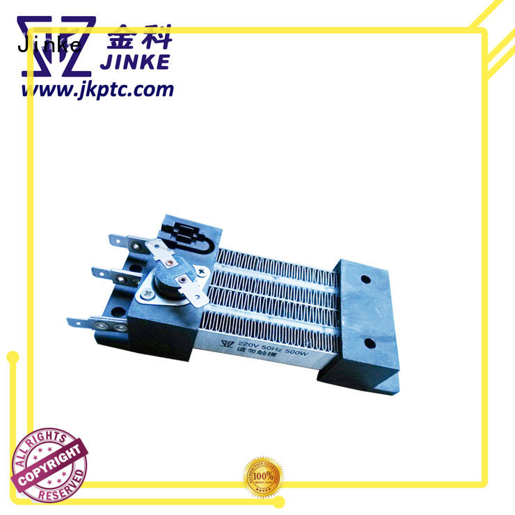 Jinke certified polymer ptc heating elements factory price for building