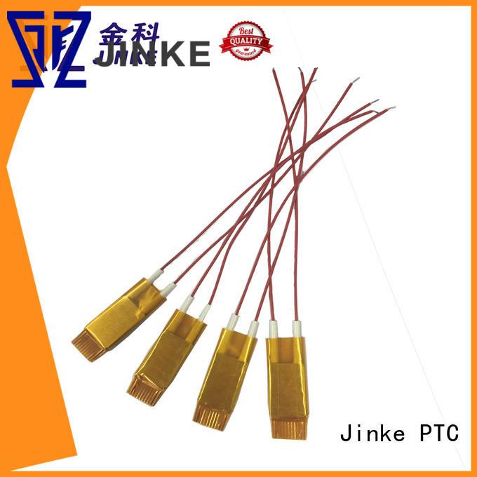 Jinke ce ptc heating element ac 110-120v factory price for plaza