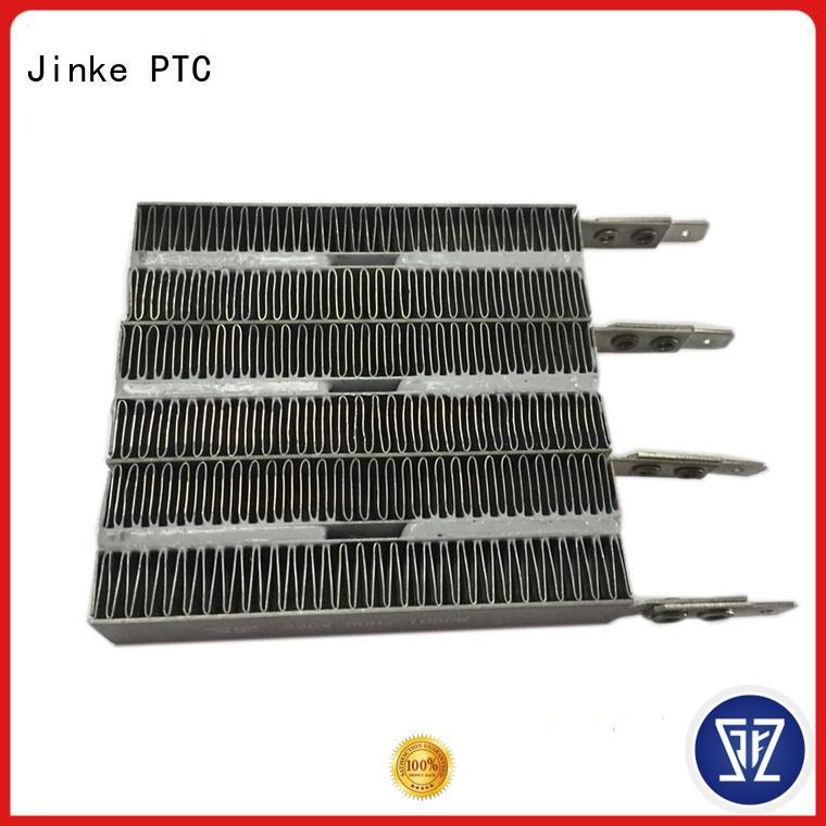 Jinke safe ptc ceramic heater manufacturer for air conditioner